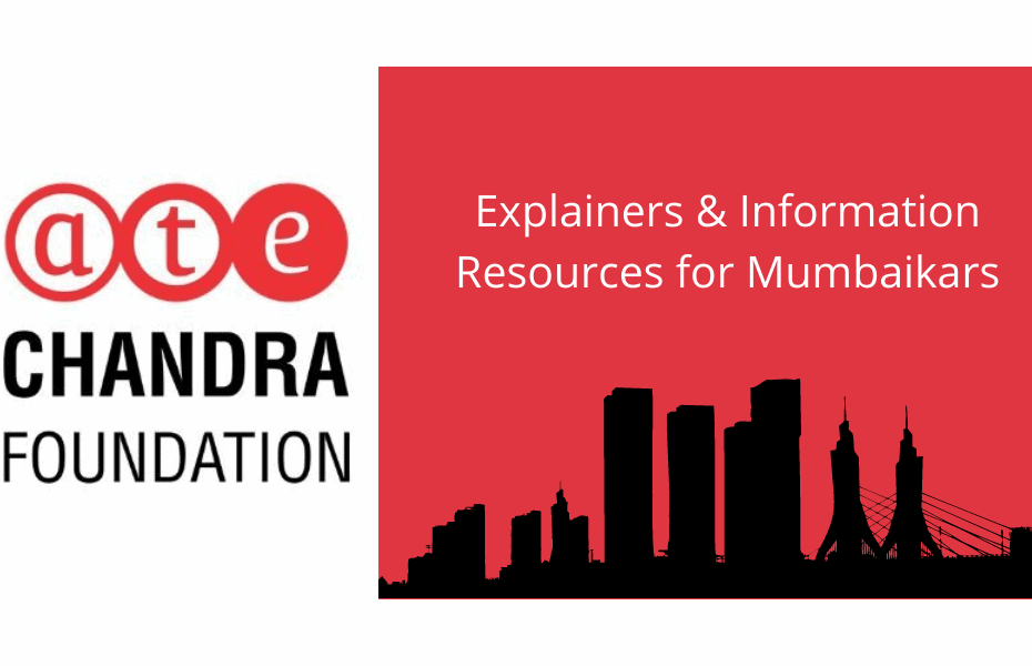 ATC Chandra Foundation logo and banner outlining the skyline of Mumbai